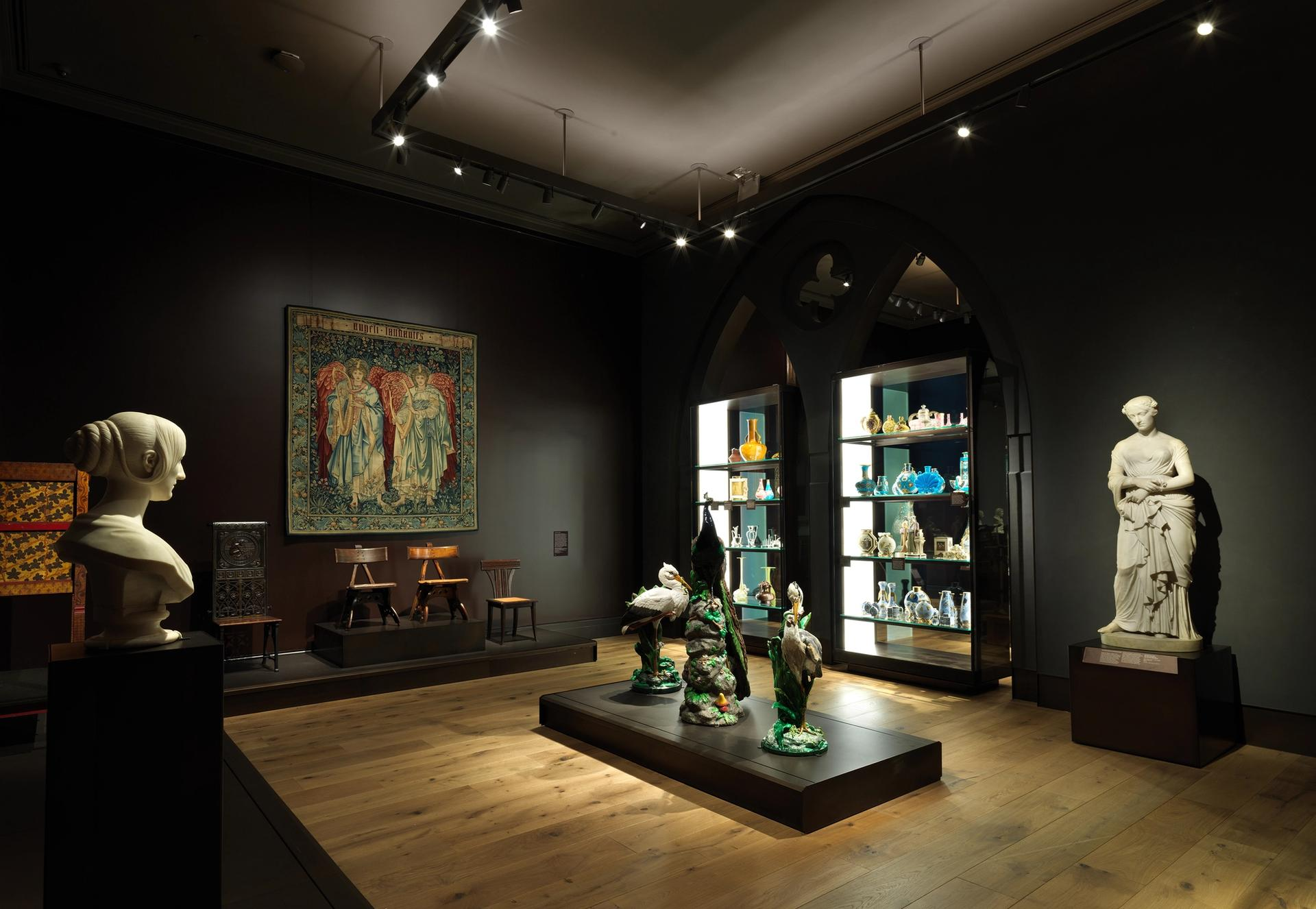 An installation view of a 19th-century room in the Metropolitan Museum of Art's new British galleries Photo by Joseph Coscia, February 2020/Courtesy of the Metropolitan Museum of Art