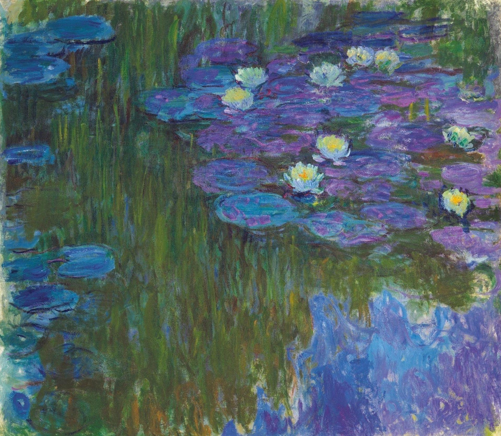 Nymphéas en fleur (1914-17) set a new artist record for Claude Monet Christie's Images LTD