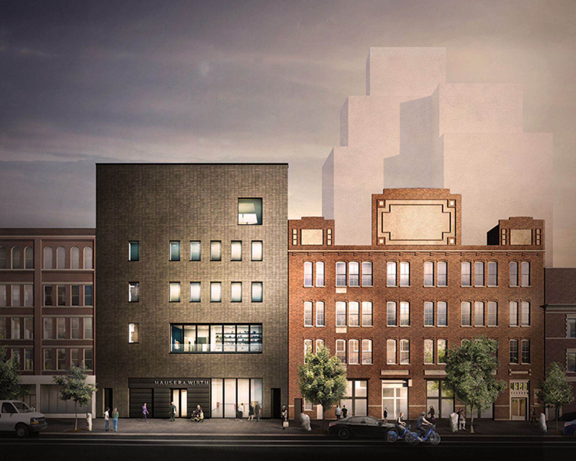 Hauser & Wirth has delayed the opening of its new headquarters in Chelsea, due to open on 2 May Courtesy of Selldorf Architects