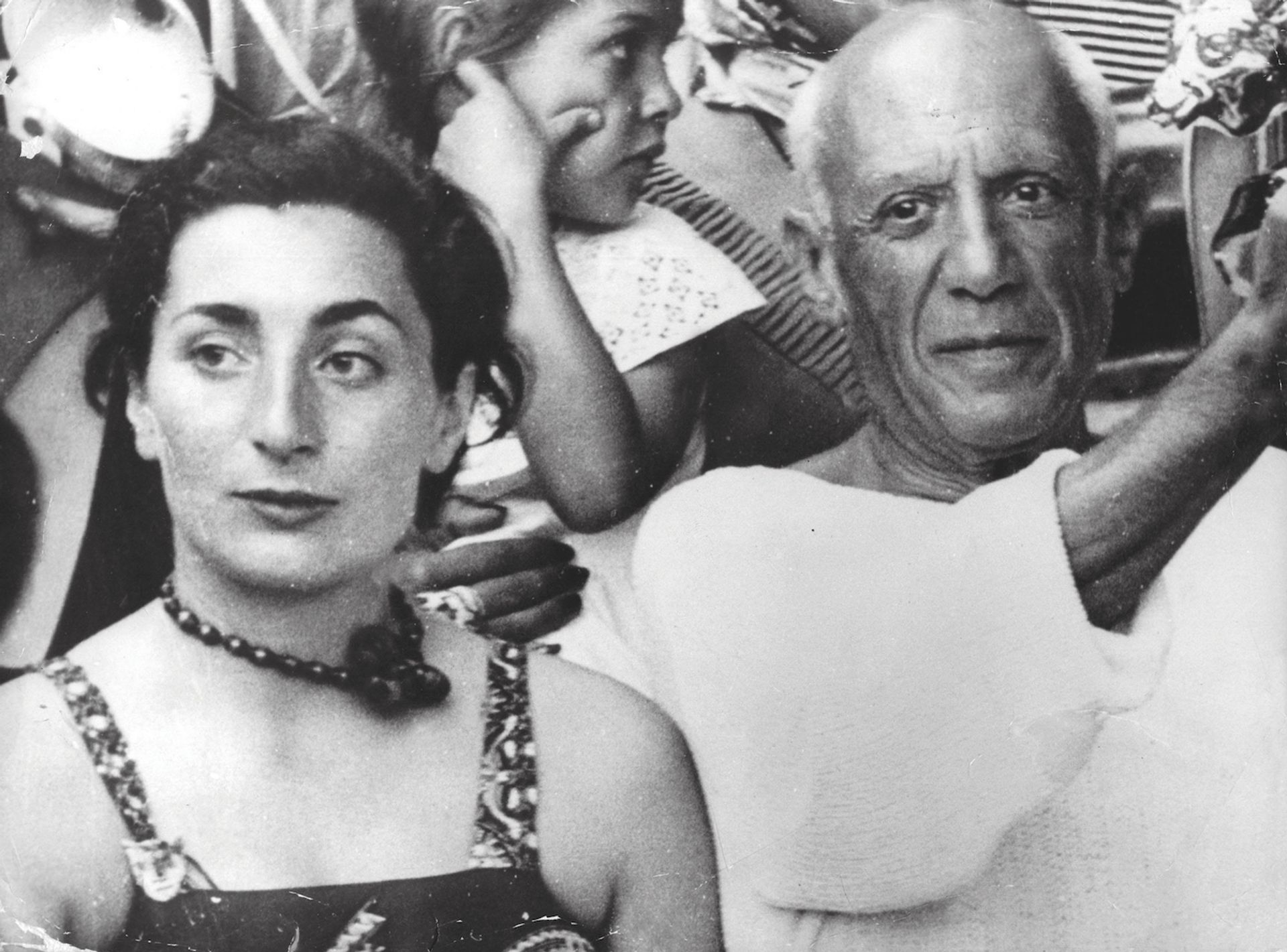 Picasso's Study for Lysistrata (1933) is among the works stolen from Catherine Hutin, whose mother Jacqueline (left) was married to the artist Keystone Press/Alamy Stock Photo