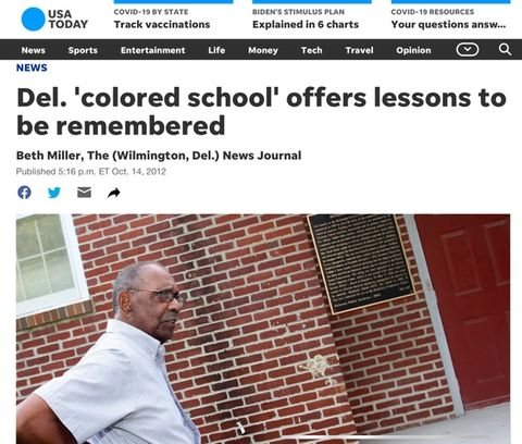 The story of the HCS #107 school's civil rights era past may also be its key to a sustainable future.