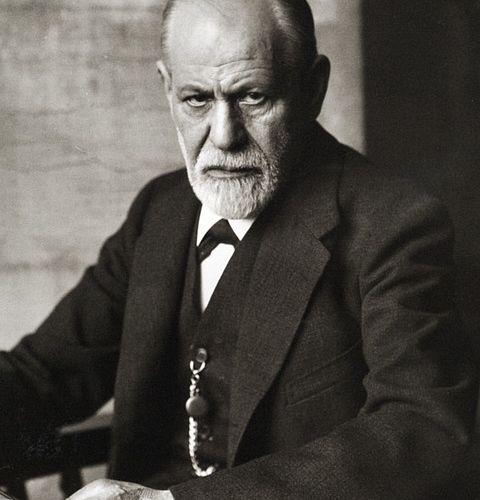Porträt von Sigmund Freud: Traumdeutung