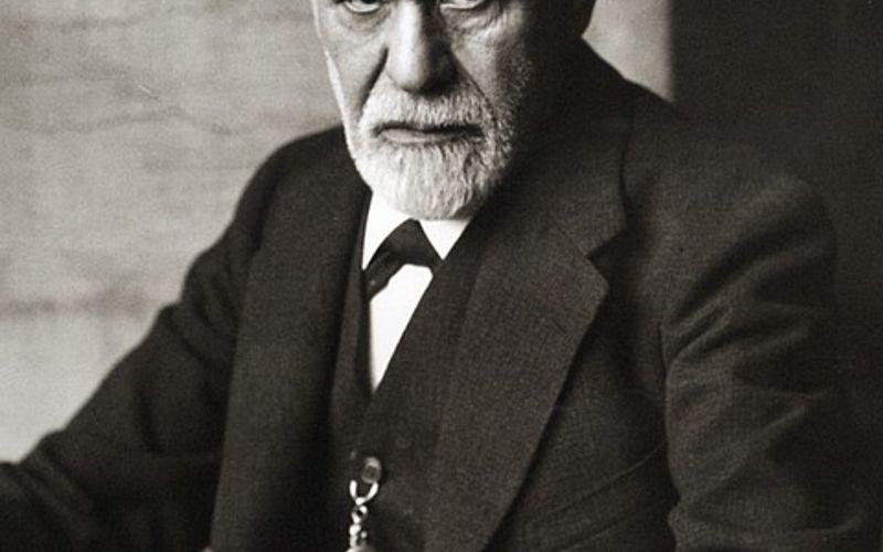 Porträt von Sigmund Freud