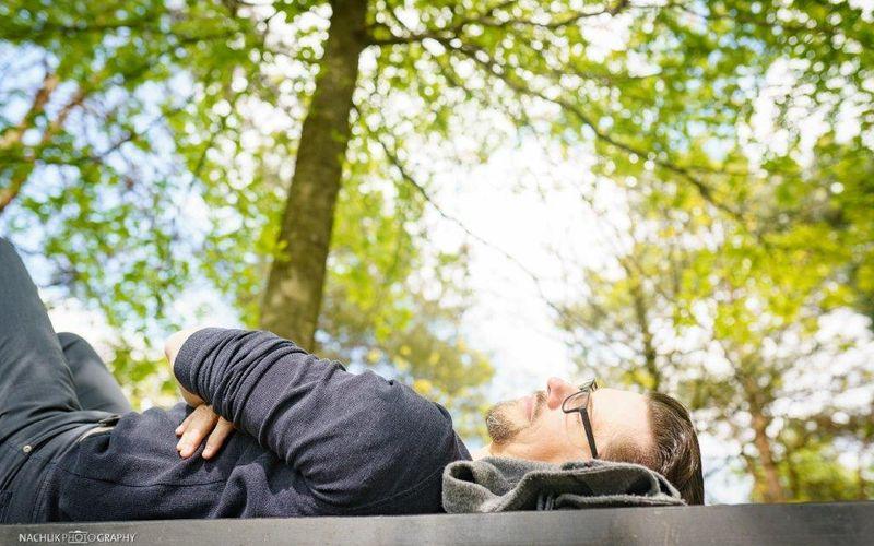 Markus Kamps - Schlafcoach schläft im Park