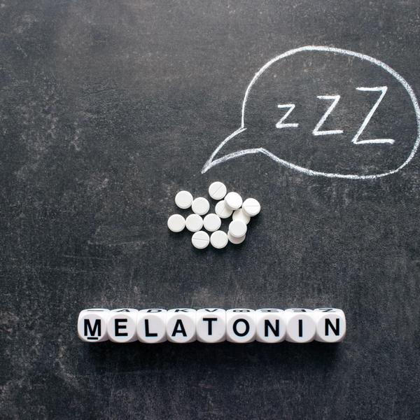 Melatonin Pillen Tafel Kreide