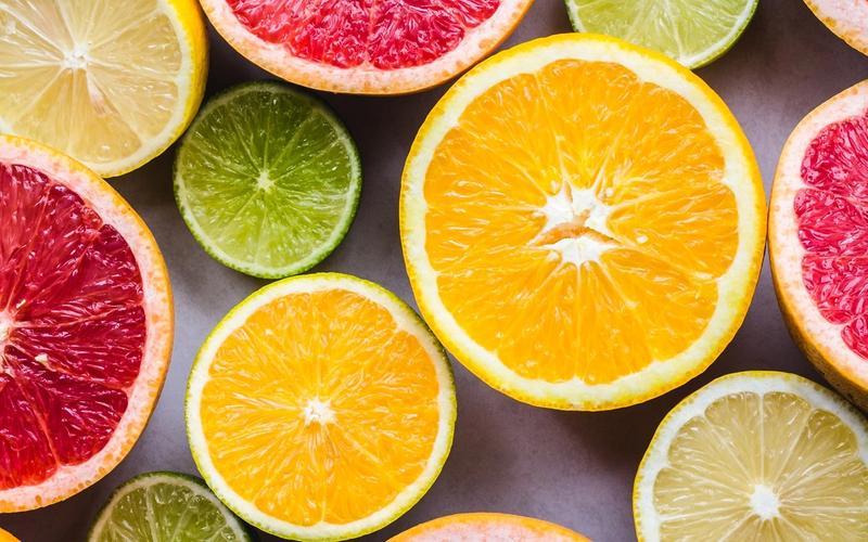 Vitamin C: Orangen, Limetten und Grapefruit