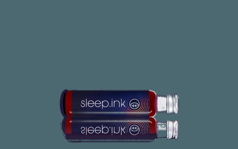 Schlafdrink Sleep.ink Flasche seitlich