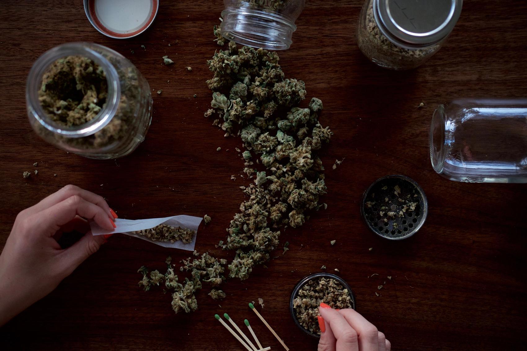 Cannabis Schlafmittel Joint