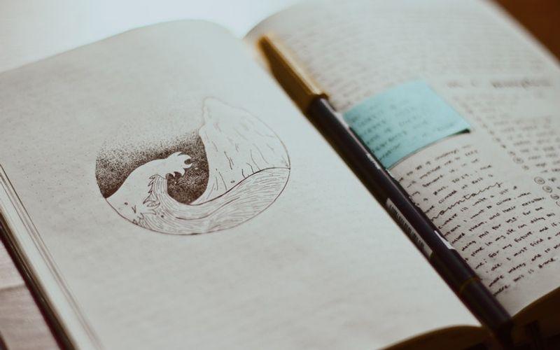 Luzides Träumen Traumtagebuch mit Zeichnungen