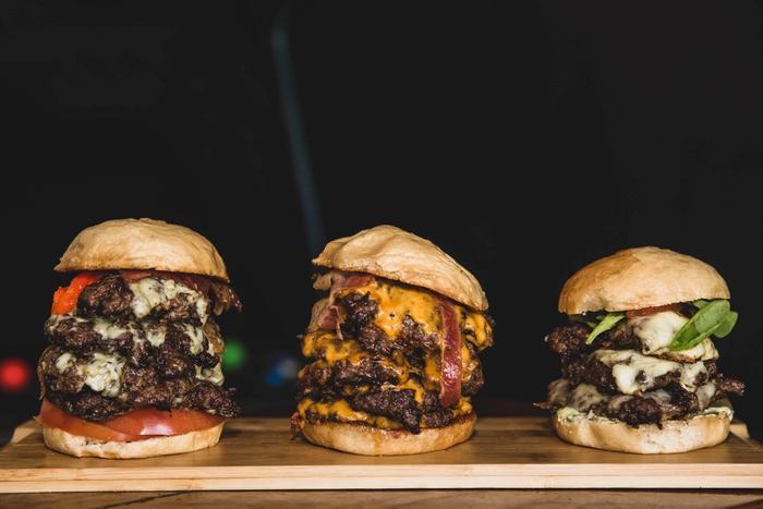 drei Burger