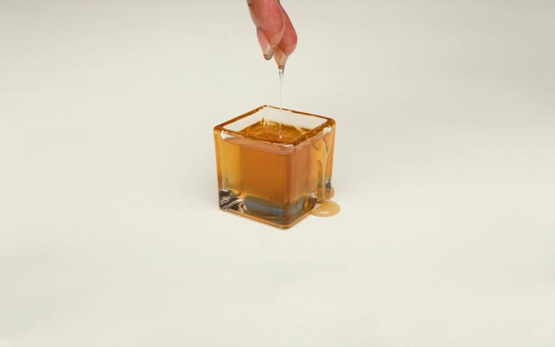 Honig-ähnliche Konsistenz