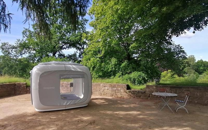 Sleeperoo Cube Schlossinsel Bad Pyrmont Niedersachsen