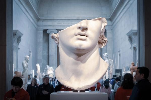 Hypnos: Gott des Schlafes; Statue