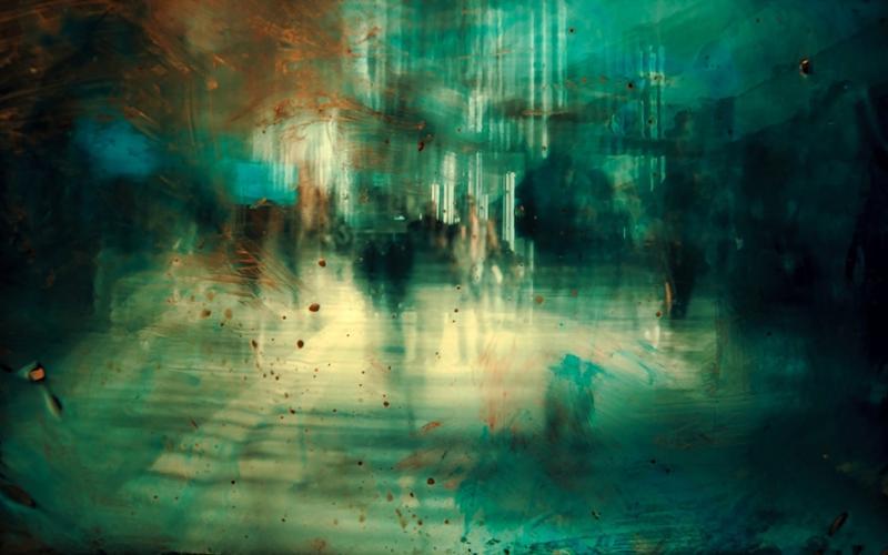 Abstraktes Bild Straße, Alpträume: Traum und Trauma