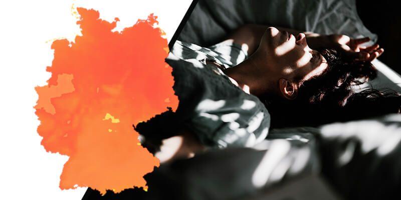 Schlaftipps: Schlafen bei Hitze