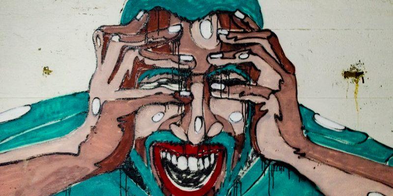 Angststörung: Angstvoller Blick
