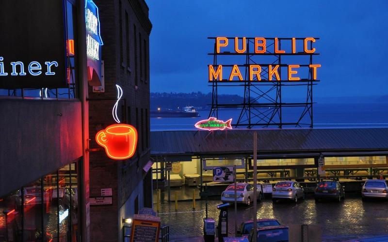 Seattle, Public Market.