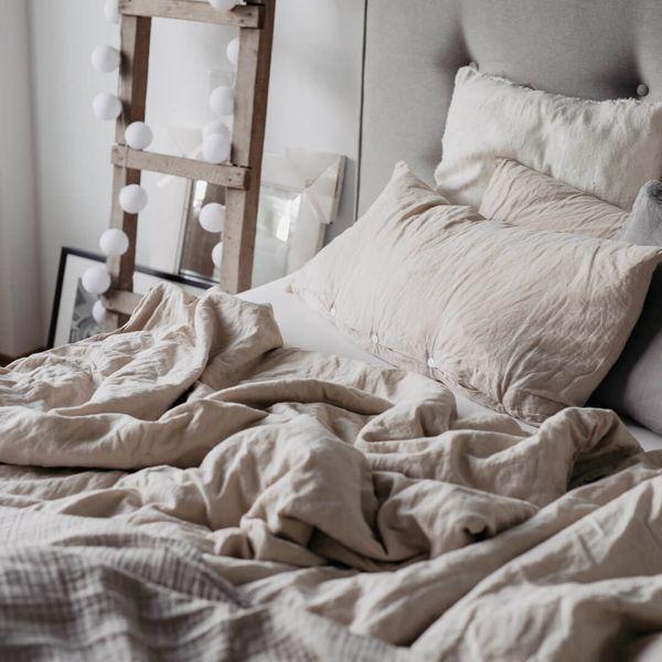 Bettwäsche von seit1832 in der Farbe sand