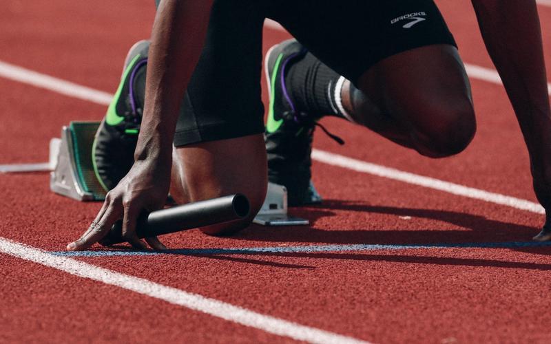 Läufer, Startblock, GABA