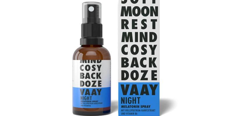 VAAY Night Spray, Verpackung