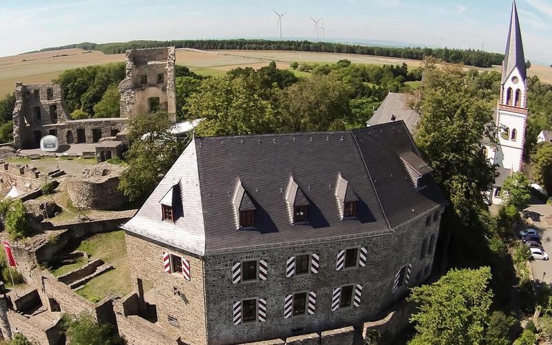 Sleeperoo Cube Burg Kastellaun
