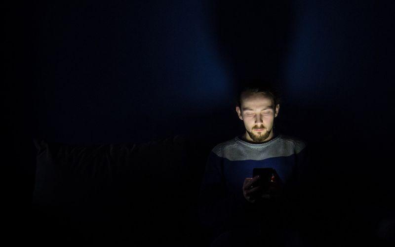 Displaylicht Schlafprobleme
