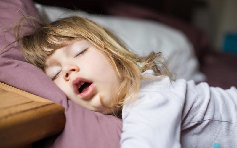 schlafendes Kind