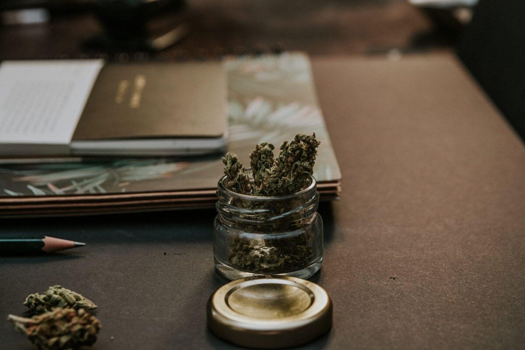 cannabis einschlafen