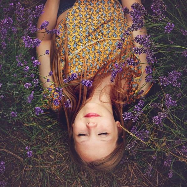 Mädchen schläft Entspannung
