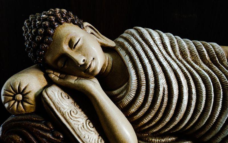 Buddha Schlafkultur