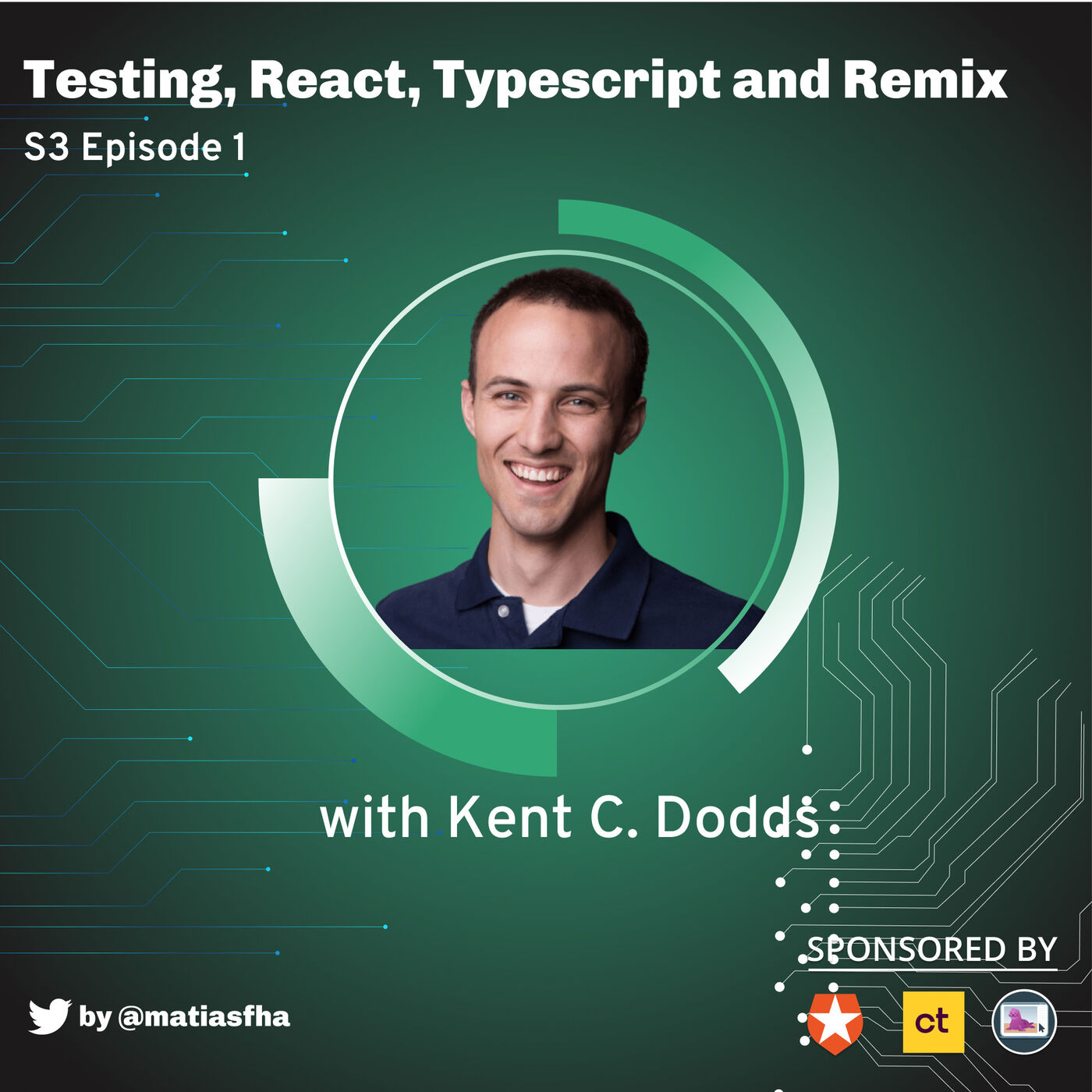 Testing, React, Typescript and Remix with Kent C. Dodds