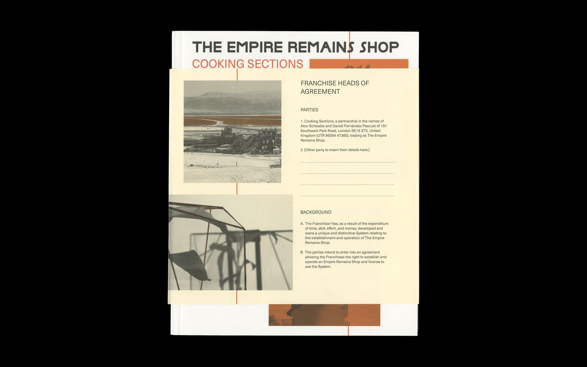 Cover scan of The Empire Remains Shop publication