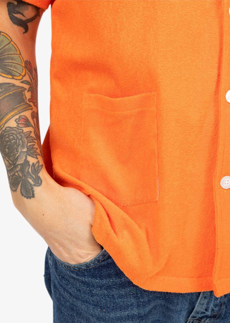 "Secondary product image for ""Frottéskjorta Orange"""