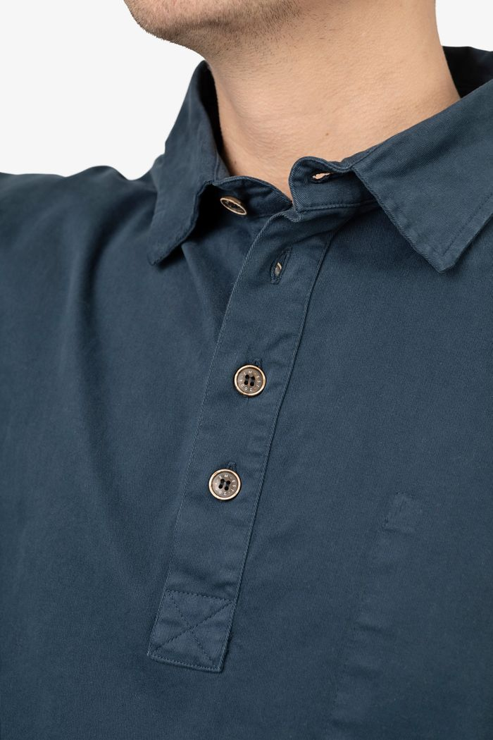 """Secondary product image for """"Fiskarskjorta Marinblå"""""""