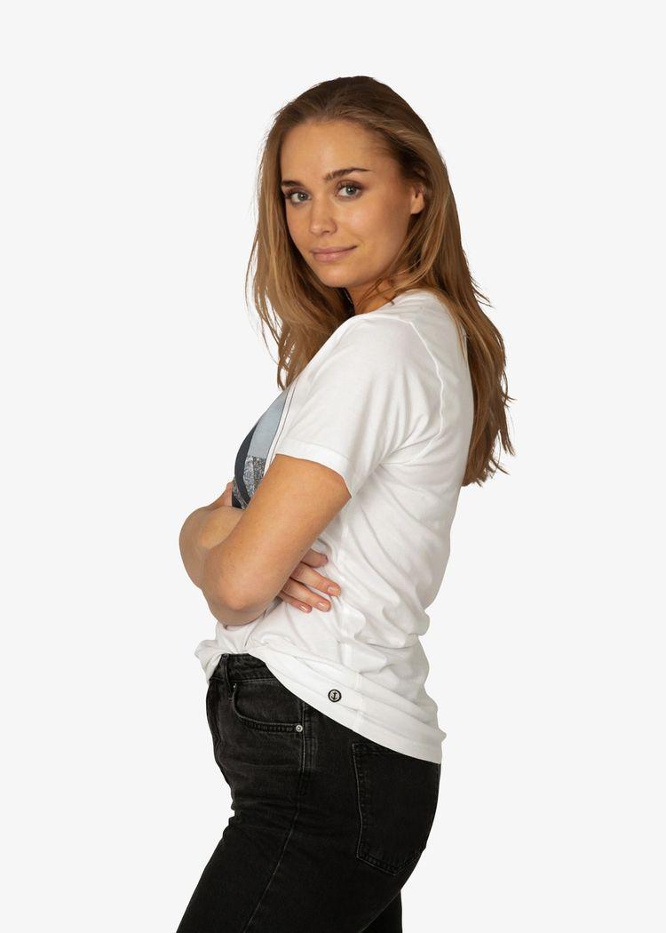 "Secondary product image for ""T-shirt Berg Vit"""