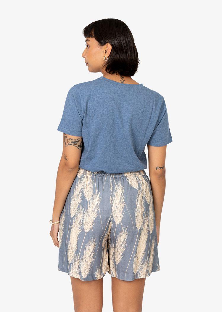 "Secondary product image for ""T-shirt Shrimp Blue"""