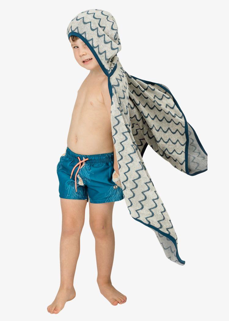 """Secondary product image for """"Babyhandduk Våg Off-white"""""""