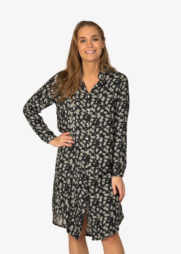 """Product image for """"Irma Skjortklänning Sten Marinblå"""""""