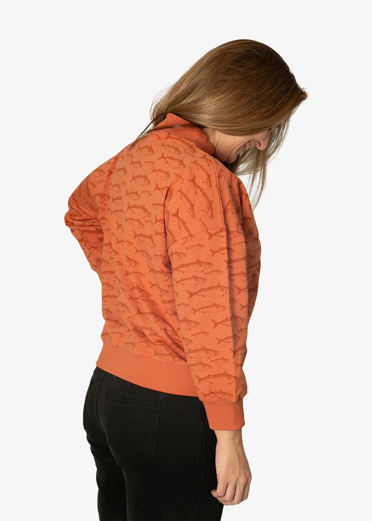 """Secondary product image for """"Wilma Sweater Rost Makrill Rost"""""""