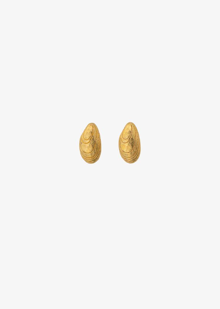 """Product image for """"Örhänge Blåmussla Guld"""""""