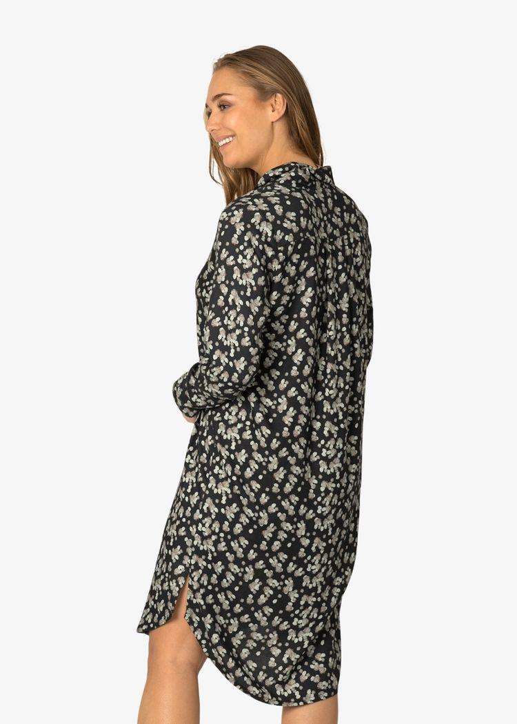 """Secondary product image for """"Irma Skjortklänning Sten Marinblå"""""""