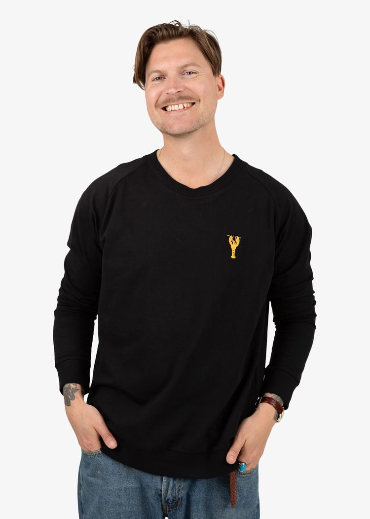 """Secondary product image for """"Sweater Hummer Svart"""""""