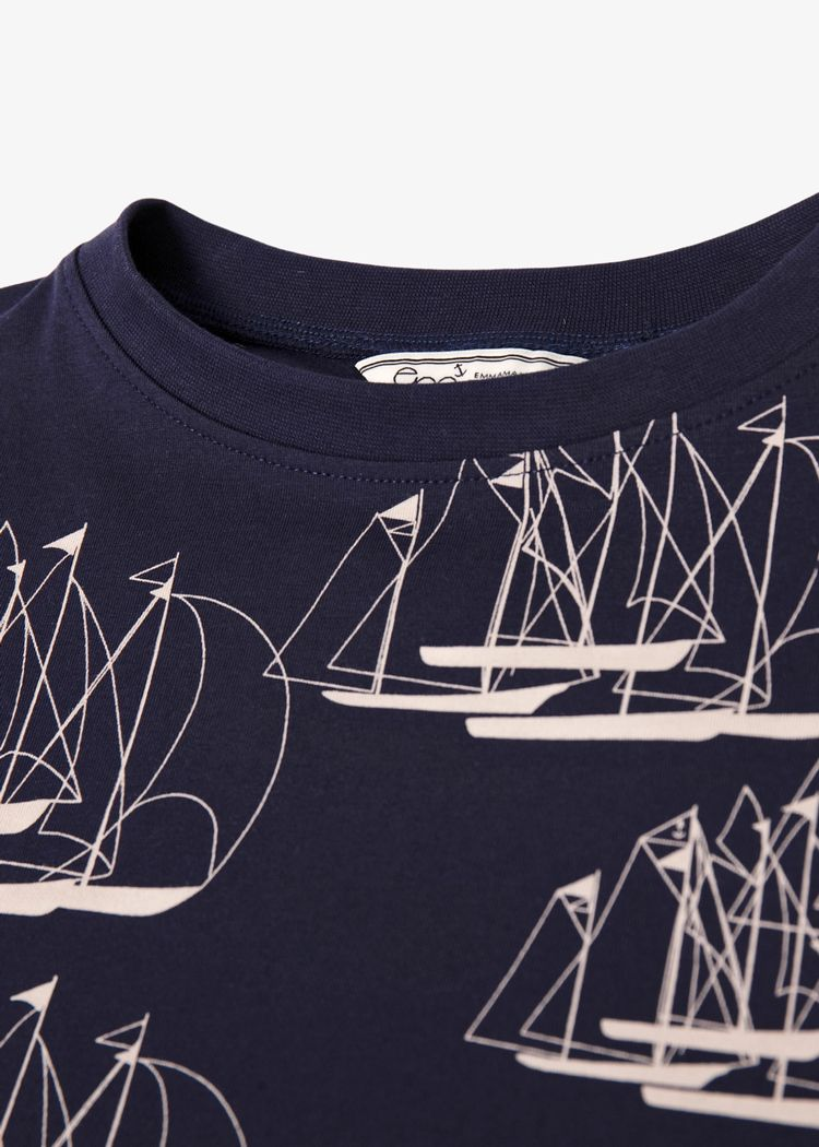 "Secondary product image for ""T-shirt Barn Linjespel"""