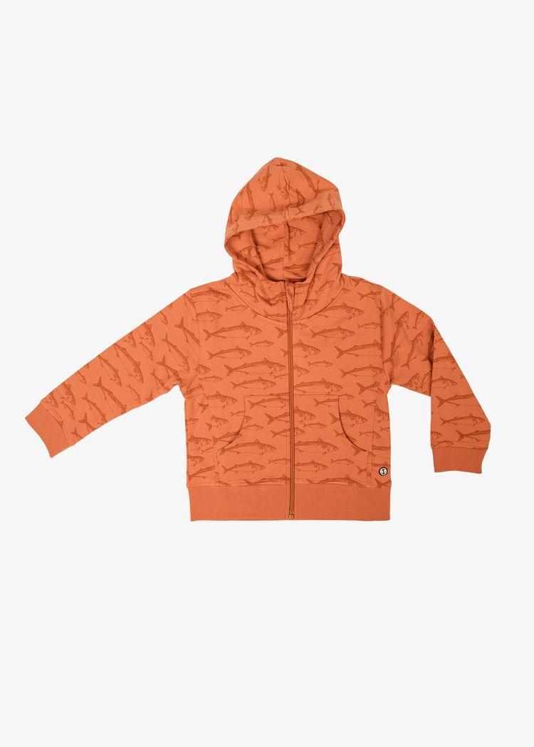 "Product image for ""Hood Tröja Barn Makrill Rost"""