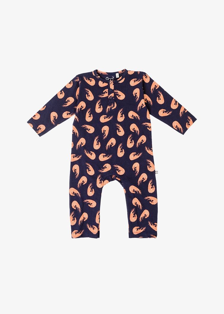 """Product image for """"Pyjamas Räka Marinblå"""""""