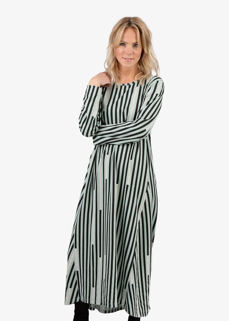 """Secondary product image for """"Susanna Dress Stripe"""""""