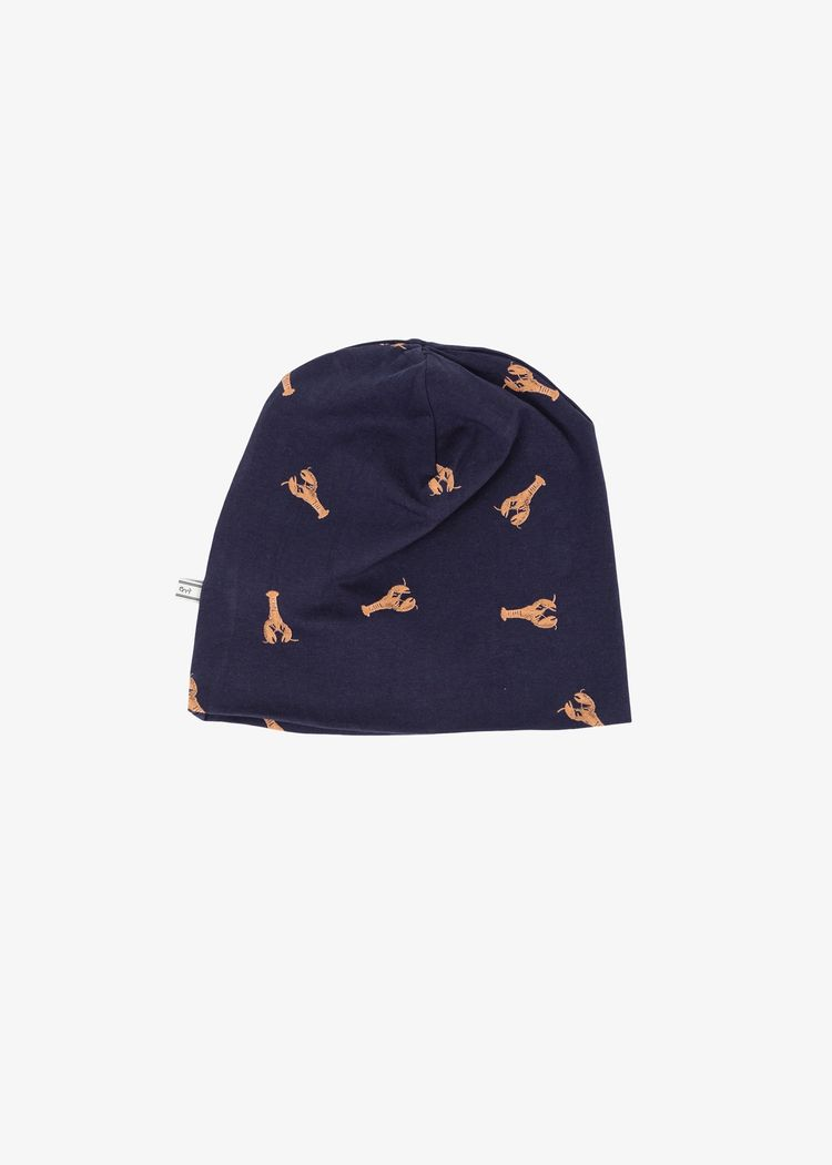 """Product image for """"Beanie Lobster Navy"""""""