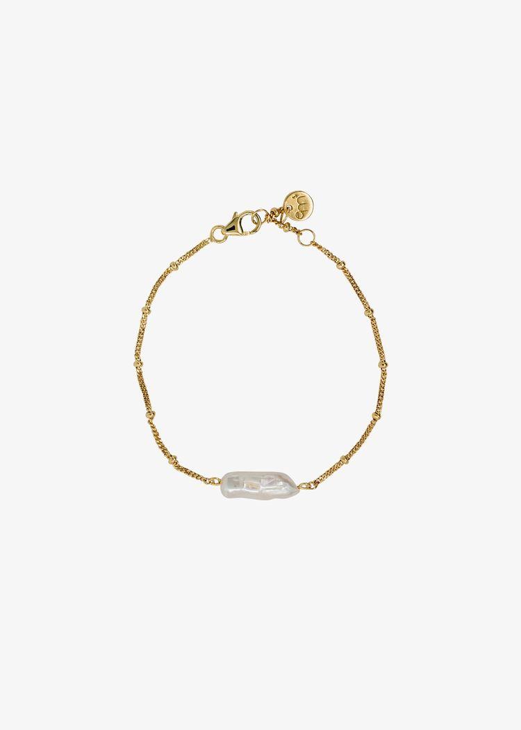 "Product image for ""Armband Pärla Guld"""