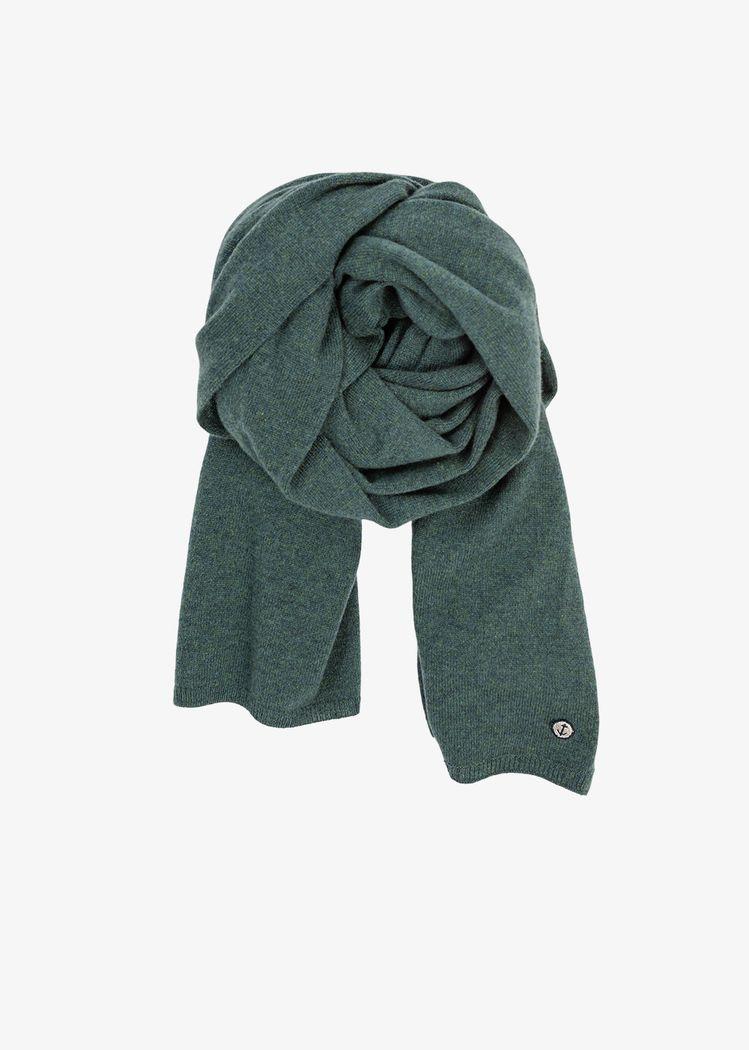 "Product image for ""Stickad Halsduk Kashmir Grön"""