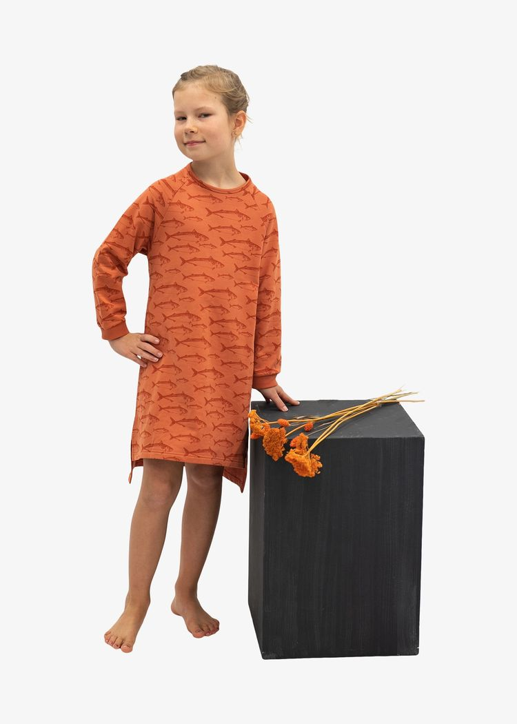 """Product image for """"Raisa Klänning Makrill Rost"""""""